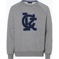 Calvin Klein - Męska bluza nierozpinana, szary. Pomarańczowe bluzy męskie rozpinane marki Calvin Klein, l, z bawełny, z okrągłym kołnierzem. Za 329,95 zł.