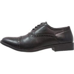 Buty wizytowe męskie: Feud London TOECAP OXFORD Eleganckie buty black