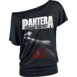 Pantera Vulgar Display Of Power Koszulka damska czarny. Czarne bluzki asymetryczne Pantera, xl, z motywem zwierzęcym. Za 99,90 zł.