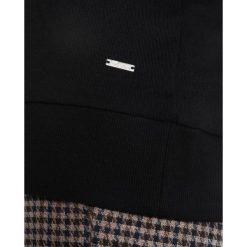 Bluzy rozpinane damskie: TOM TAILOR DENIM Bluza z kapturem black