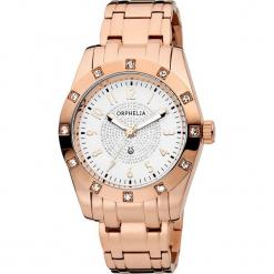 Zegarek kwarcowy w kolorze biało-różowozłotym. Żółte, analogowe zegarki damskie Esprit Watches, szklane. W wyprzedaży za 318,95 zł.