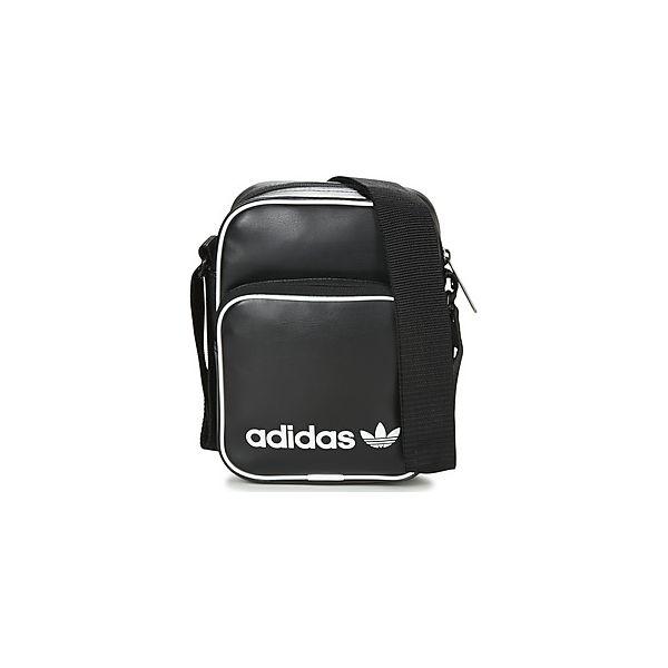 80384df8ae521 Torby / Saszetki adidas MINI BAG VINTAGE - Czarne torebki klasyczne ...