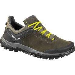 """Buty trekkingowe męskie: Skórzane buty turystyczne """"Wander Hiker L"""" w kolorze khaki"""