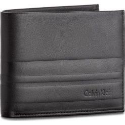 Portfele męskie: Duży Portfel Męski CALVIN KLEIN BLACK LABEL – Stripe 5CC/Coin K50K503568  001