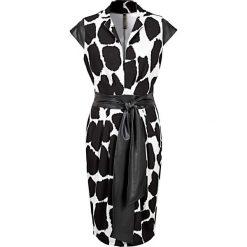 Sukienki balowe: Sukienka bonprix czarno-biały żyrafa