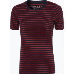 T-shirty damskie: brookshire – T-shirt damski, czerwony