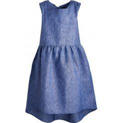Sukienki dziewczęce z falbanami: Sukienka bez rękawów damska