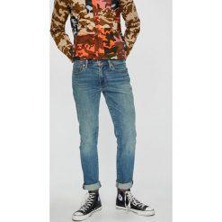 Levi's - Jeansy 511. Brązowe jeansy męskie regular Levi's®, z bawełny. Za 399,90 zł.