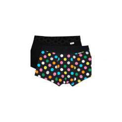 Bielizna męska Happy Socks - 2Pack Big Dot Trunk (BDO96-9000). Czarna bokserki męskie Happy Socks, z materiału. Za 119,90 zł.