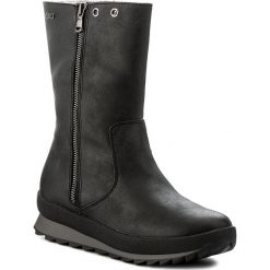 Buty zimowe damskie: Kozaki CAPRICE – 9-26411-29 Black Antic 001