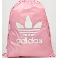 Adidas Originals - Plecak. Brązowe plecaki damskie marki adidas Originals, z bawełny. W wyprzedaży za 49,90 zł.