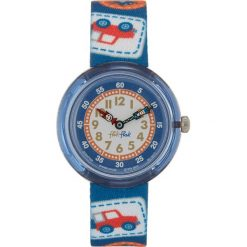 Flik Flak Zegarek camping badge blue. Czarne zegarki męskie marki Strategia. Za 149,00 zł.