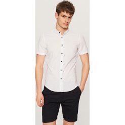 Koszula super slim fit - Niebieski. Niebieskie koszule męskie slim marki Reserved. Za 69,99 zł.