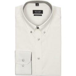 Koszula navia 1659 długi rękaw custom fit ecru. Szare koszule męskie jeansowe Recman, m, button down, z długim rękawem. Za 99,00 zł.