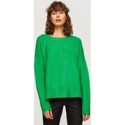 Sweter - Zielony. Zielone swetry klasyczne damskie Reserved, l. Za 79,99 zł.