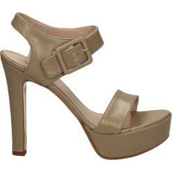 Rzymianki damskie: Sandały - 3309 PEL BEIG