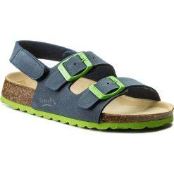 Sandały SUPERFIT - 2-00124-82 Ocean Kombi S. Niebieskie sandały męskie skórzane marki Superfit. Za 137,00 zł.