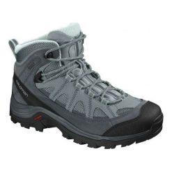 Buty trekkingowe damskie: Salomon Buty damskie Authentic LTR GTX W Lead/Stormy Weather/Eggshell Blue r. 37 1/3 (404644)