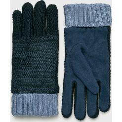 Pepe Jeans - Rękawiczki Eley. Szare rękawiczki męskie Pepe Jeans, z dzianiny. W wyprzedaży za 119,90 zł.