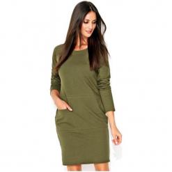 Numinou Sukienka Damska 40 Zielony. Zielone sukienki z falbanami marki Numinou, z długim rękawem. Za 205,00 zł.