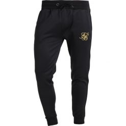 Spodnie dresowe męskie: SIKSILK SIKSILK POLY TRICOT CUFF Spodnie treningowe black