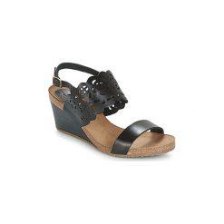 Sandały Kickers  SINGLE. Czarne sandały trekkingowe damskie marki bonprix. Za 291,80 zł.
