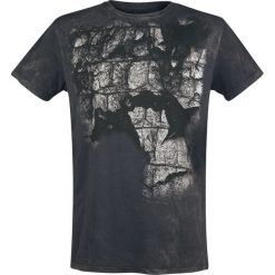 Outer Vision Aligator Skin T-Shirt szary. Szare t-shirty męskie z nadrukiem Outer Vision, s, z okrągłym kołnierzem. Za 62,90 zł.