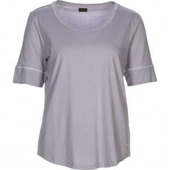 """Koszulka piżamowa """"Cozy World"""" w kolorze szarym. Białe koszule nocne i halki marki LASCANA, w koronkowe wzory, z koronki. W wyprzedaży za 45,95 zł."""