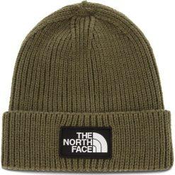 Czapka THE NORTH FACE - Tnf Logo Box Cuf Bne T93FJX21L New Taupe Green. Zielone czapki zimowe damskie marki The North Face, z elastanu. Za 129,00 zł.
