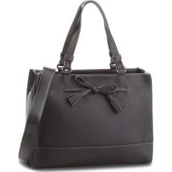 Torebka GABOR - 7952-60 Czarny. Czarne torebki klasyczne damskie marki Gabor, z materiału, na płaskiej podeszwie. W wyprzedaży za 239,00 zł.
