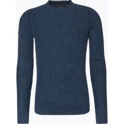 Superdry - Sweter męski, niebieski. Niebieskie swetry klasyczne męskie Superdry, m. Za 299,95 zł.