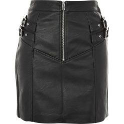 Spódniczki trapezowe: Topshop Petite Spódnica trapezowa black