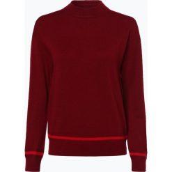 Tommy Hilfiger - Sweter damski z dodatkiem kaszmiru, czerwony. Czerwone swetry klasyczne damskie TOMMY HILFIGER, xs, z futra. Za 599,95 zł.