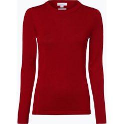 Brookshire - Damski sweter z wełny merino, czerwony. Czarne swetry klasyczne damskie marki brookshire, m, w paski, z dżerseju. Za 179,95 zł.