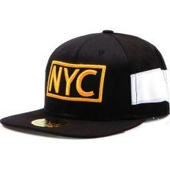 Czapka męska snapback czarna (hx0196). Czarne czapki z daszkiem męskie Dstreet, z haftami, eleganckie. Za 69,99 zł.