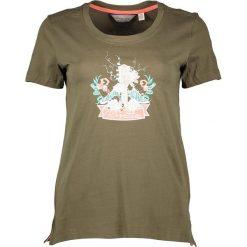 """T-shirty damskie: Koszulka """"Filandra II"""" w kolorze khaki"""