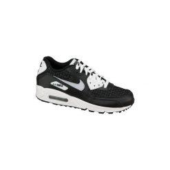 Buty Nike  Air Max 90 Gs 724882-101. Szare buty sportowe damskie nike air max marki Nike Sportswear, z materiału. Za 349,99 zł.