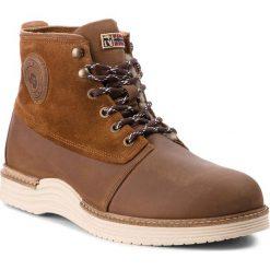 Kozaki NAPAPIJRI - Edmund 17843019 Cognac N45. Brązowe buty zimowe męskie marki Napapijri, z nubiku. W wyprzedaży za 489,00 zł.