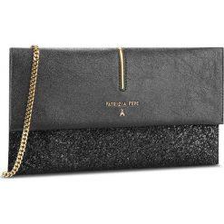 Torebka PATRIZIA PEPE - 2V5460/A2HE-F1TC Black Glitter. Czarne torebki klasyczne damskie marki Patrizia Pepe, ze skóry. W wyprzedaży za 619,00 zł.