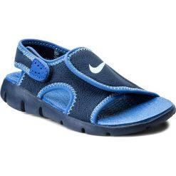 Sandały NIKE - Sunray Adjust 4 (GS/PS) 386518 413 Binary Blue/Still Blue. Szare sandały chłopięce marki Blukids, z gumy. Za 119,00 zł.