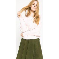Medicine - Sweter Future Past. Szare swetry oversize damskie MEDICINE, l, z dzianiny. W wyprzedaży za 79,90 zł.