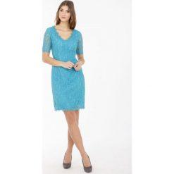 Sukienki: Kobieca, koronkowa sukienka