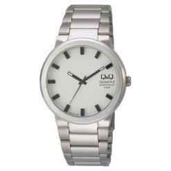 Zegarek Q&Q Męski Q544-201 srebrny. Szare zegarki męskie Q&Q, srebrne. Za 121,15 zł.