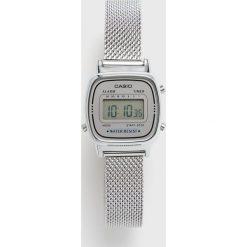 Casio - Zegarek LA670WEM.7EF. Czarne zegarki męskie marki Fossil, szklane. Za 229,90 zł.