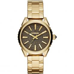 Zegarek DIESEL - Nuki DZ5474  Gold/Gold. Żółte zegarki damskie Diesel. Za 995,00 zł.