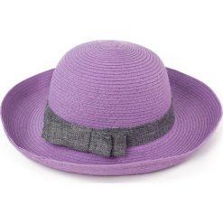 Kapelusz damski Elegantka w lecie fioletowy (cz13008). Fioletowe kapelusze damskie marki Art of Polo. Za 32,73 zł.