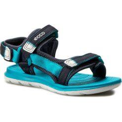 Sandały ECCO - Intrinsic Lite 70113250228 Marine/Capri Breeze. Szare sandały chłopięce marki Blukids, z gumy. W wyprzedaży za 209,00 zł.