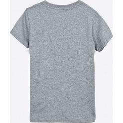 Pepe Jeans - T-shirt dziecięcy Silvan 122-180 cm. Szare t-shirty chłopięce z nadrukiem Pepe Jeans, z bawełny, z okrągłym kołnierzem. W wyprzedaży za 69,90 zł.