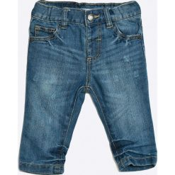Blukids - Jeansy dziecięce 68-98 cm. Niebieskie spodnie chłopięce Blukids, z bawełny. W wyprzedaży za 24,90 zł.