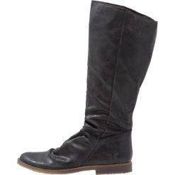 Felmini RENOIR Kozaki zenia black. Czarne kowbojki damskie Felmini, z materiału. W wyprzedaży za 343,85 zł.